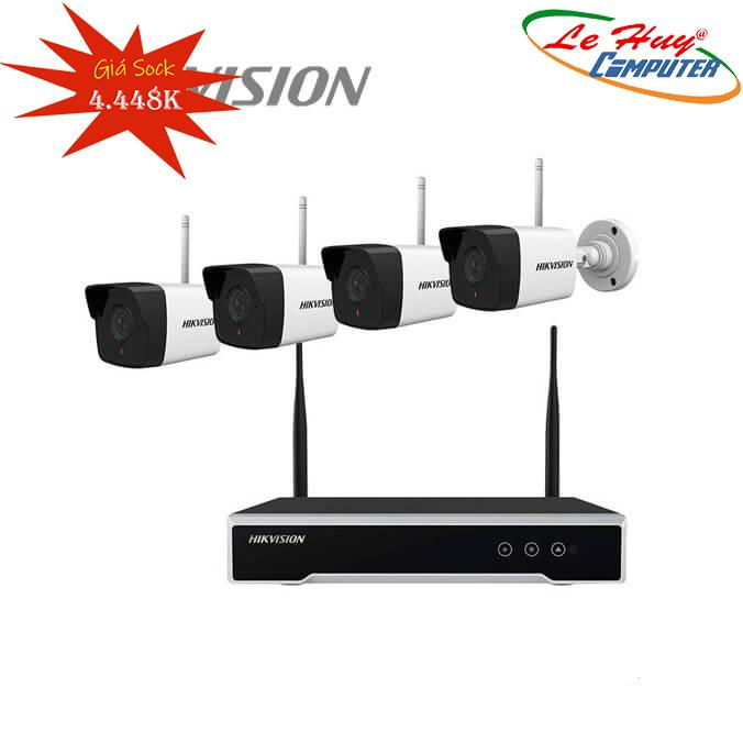 Bộ Kit 4 Camera IP Wifi HIKVISION NK42WO