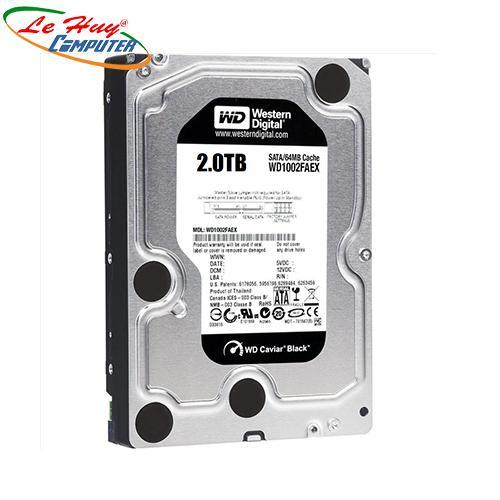 Ổ Cứng HDD Western  2TB BLACK 3.5