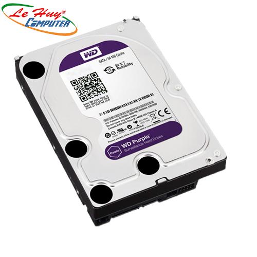 Ổ Cứng HDD 4TB WD Purple chuyên CAMERA(Ổ TÍM) CTY