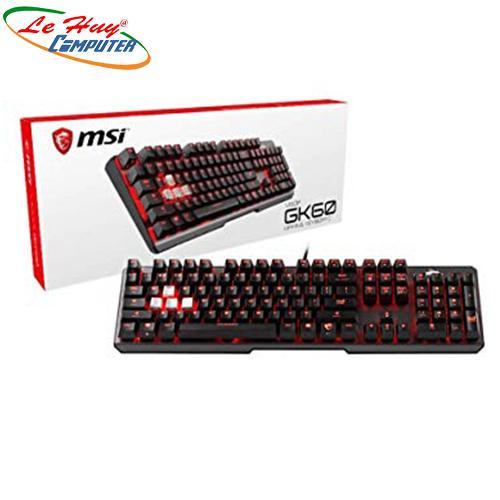 Bàn phím cơ Gaming MSI Vigor GK60