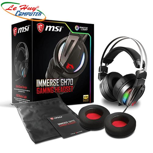 Tai nghe Gaming MSI IMMERSE GH70