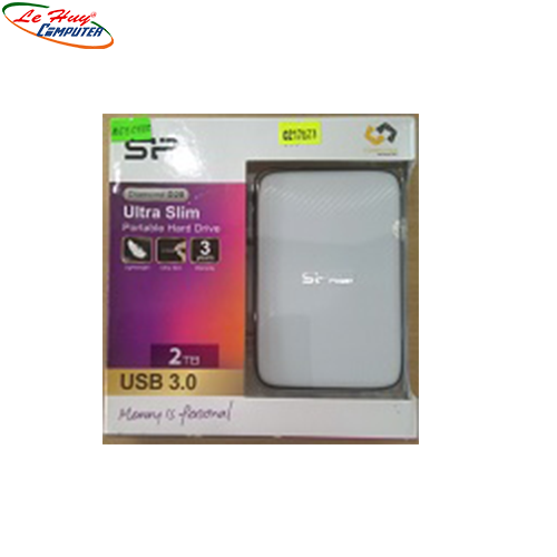 Ổ cứng di động HDD Silicon Power 2TB Diamond D20 USB 3.0