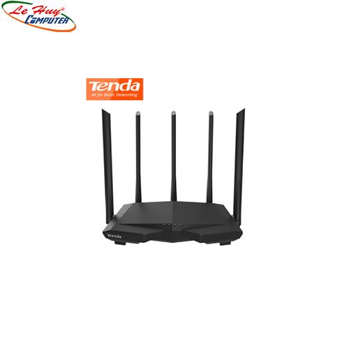 Thiết bị mạng - Router Tenda AC 1200Mbps AC7 5 ANTEN