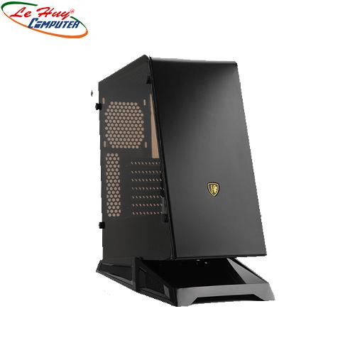 Vỏ máy tính case SAHARA F5 (Đen/Đỏ/Trắng/ Xanh Lá)