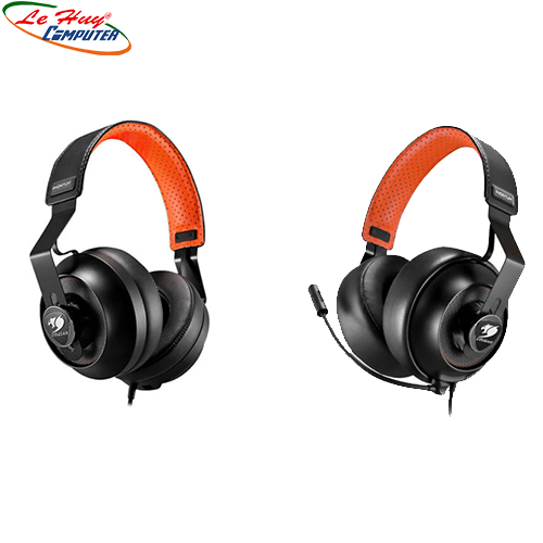 Headset Phontum Stereo / Driver 53mm / Interchangeable Ear Pad / Detachable Microphone Type