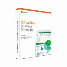 Phần mềm bản quyền/ Office 365 Business Premium Retail English APAC EM Subscr 1YR Mdls (KLQ-00429)