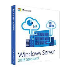 Phần mềm bản quyền/ Win Svr Std 2016 64Bit English 1pk DSP OEI DVD 16 Core P73-07113