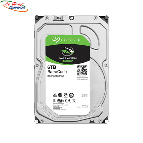 Ổ Cứng HDD Seagate 6TB - 3.5