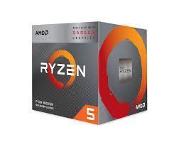 CPU AMD Ryzen 5 3400G / 3.7 GHz (4.2 GHz with boost) / 6MB / 4 cores 8 threads / Socket AM4