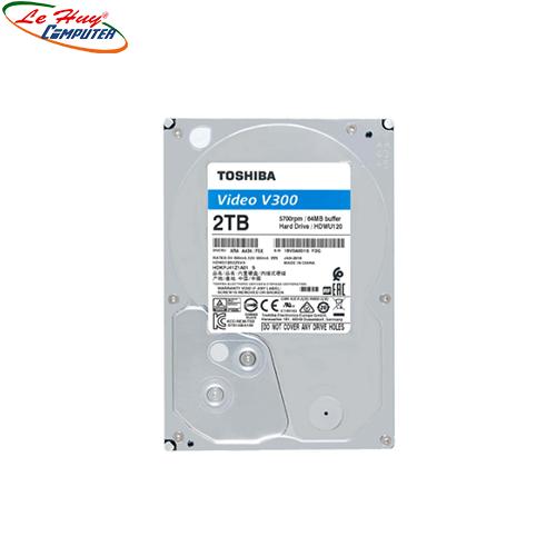 Ổ cứng HDD Toshiba V300 64MB 5700rpm 2TB 3.5