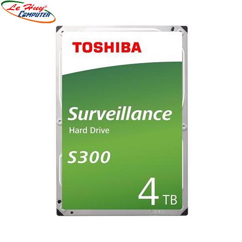 Ổ CỨNG HDD TOSHIBA S300 Surveillance 4TB 3.5