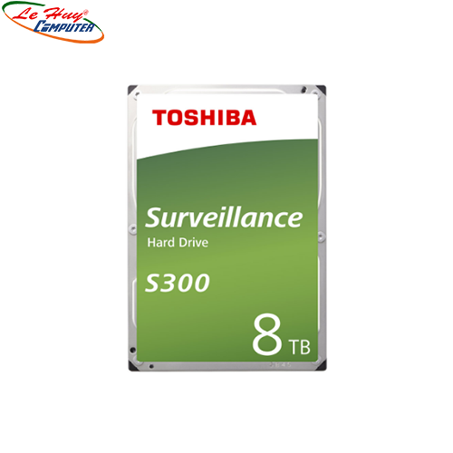 Ổ cứng HDD Toshiba S300 Surveillance 8TB 3.5