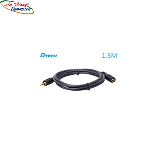 Cáp loa nối dài Dtech (1,5m)DT6215