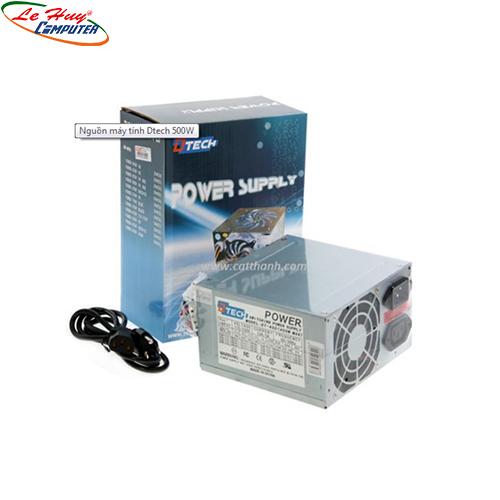 Nguồn Dtech  500W(EB-500)