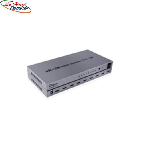 Multi HDMI 1.4  1->8 Dtech   4Kx 2K (DT-7148)