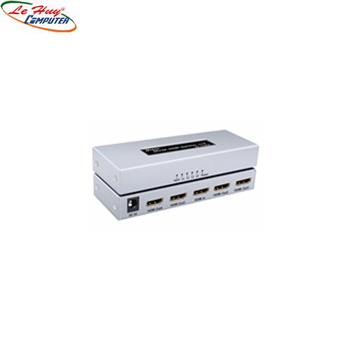Multi HDMI 1.4  1->4 Dtech  340MHz  4Kx 2K (DT-7144A)