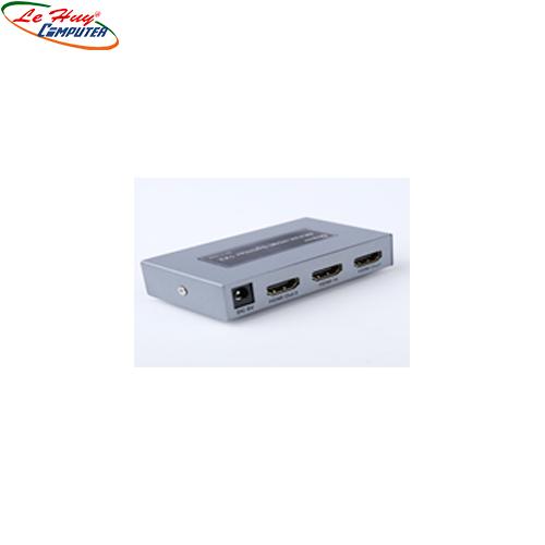 Multi HDMI 1.4  1->2  Dtech  340MHz  4Kx 2K (DT-7142A)