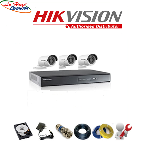 LẮP ĐẶT COMBO 3 CAMERA HKVISION