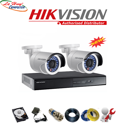 LẮP ĐẶT COMBO 2 CAMERA HKVISION
