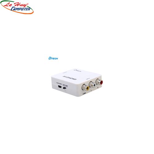 Hộp Chuyển AV-> HDMI Dtech