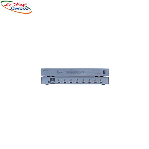 Multi VGA Audio 1->8 Dtech 500Mhz  (DT-AU7508)