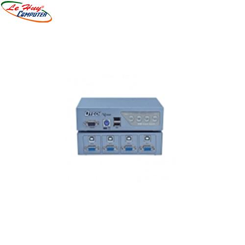 Data KVM VGA 4-1 500MHz Dtech (DT-8041)