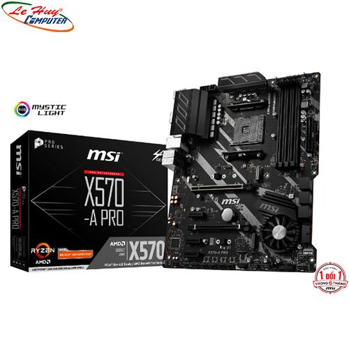 Mainboard MSI X570 A PRO