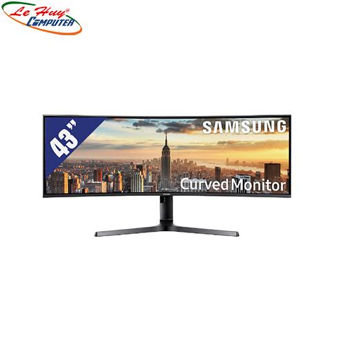 Màn hình máy tính cong Samsung 43