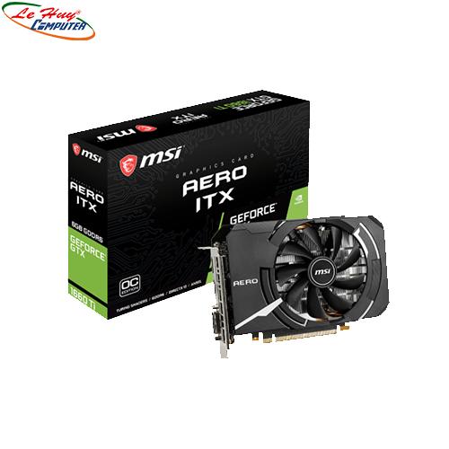 Card Màn Hình - VGA MSI GeForce GTX1660 AERO ITX 6G