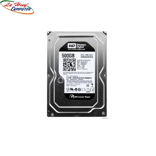 Ổ Cứng HDD Western 500GB BLACK  3.5