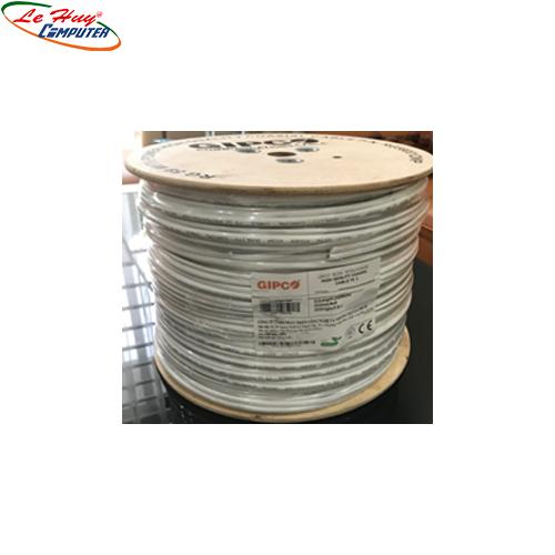 Cable đồng trục Gipco RG59+2C 200M (CCA) HỢP KIM NHÔM