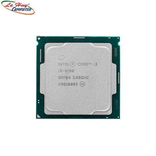 CPU intel i3 9100 (4.20GHz, 6M) TRAY bao gồm Fan (Có tích hợp GPU)