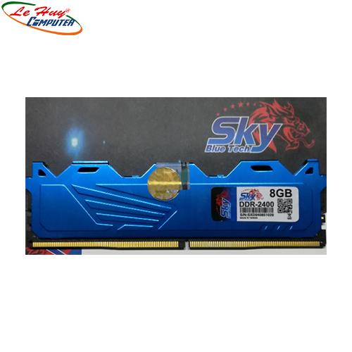 Ram Máy Tính Sky Ram DDR4 8/2400  tản nhiệt thép