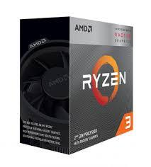 CPU AMD Ryzen 3 3200G with Wraith Stealth cooler/ 3.6 GHz (4.0 GHz with boost) / 6MB / 4 cores 4 threads / Radeon Vega 8 /  65W / Socket AM4