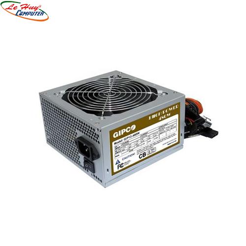 Nguồn máy tính GIPCO GIP 480W fan 12Cm