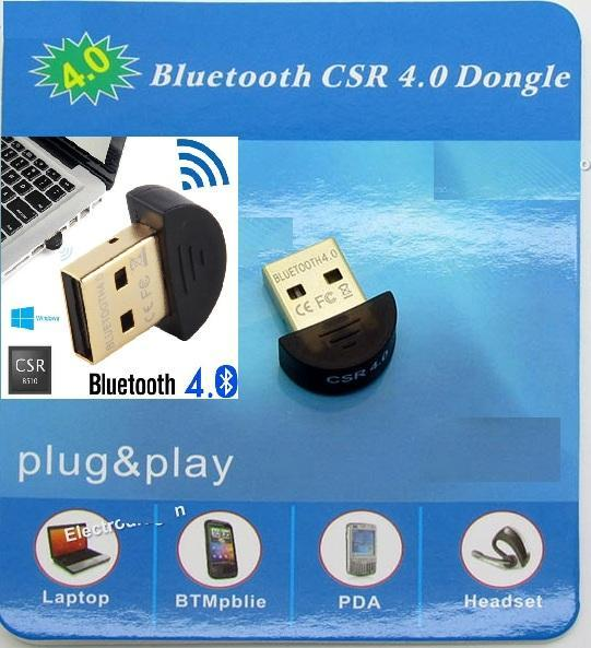USB Bluetooth Dongle 4.0 CSR (Máy Tính)