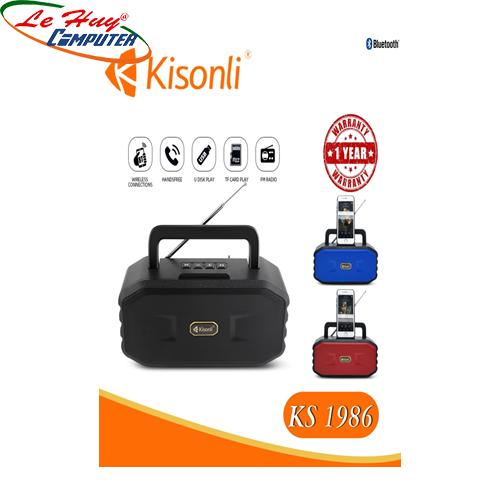 Loa Kisonli Bluetooth KS-1986