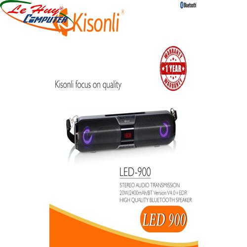 Loa Kisonli Bluetooth LED-900