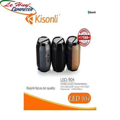 Loa Kisonli Bluetooth LED-904