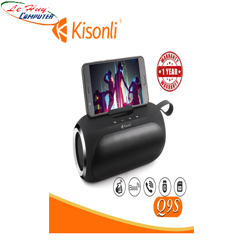 Loa Kisonli Bluetooth Q9S
