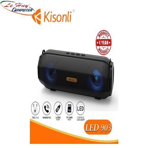 Loa Kisonli Bluetooth LED-903