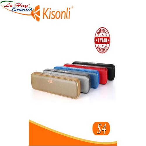 Loa Kisonli Bluetooth S4