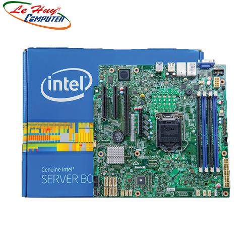 Bo Mạch Chủ - Mainboard Intel S1200SPSR(Sử dụng ram ddr4) Chính hãng 3N