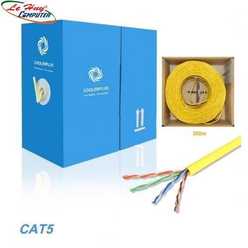 Cáp mạng COOLERPLUS CAT5