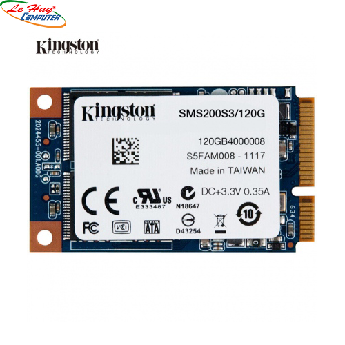 Ổ cứng SSD Kingston 120GB mSATA