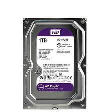 Ổ Cứng HDD Western Purple AV 1TB(TÍM) 3.5