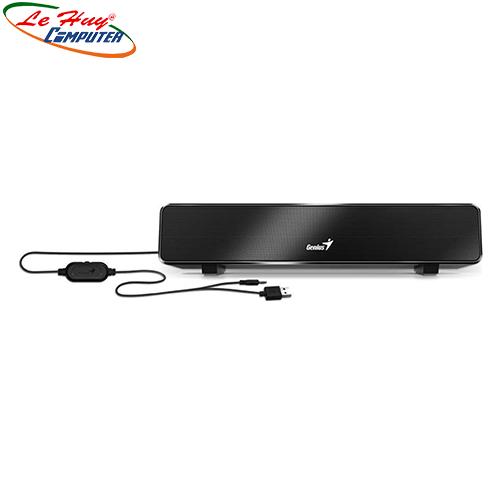 Loa GENIUS Soundbar 100 USB (Màu đen)