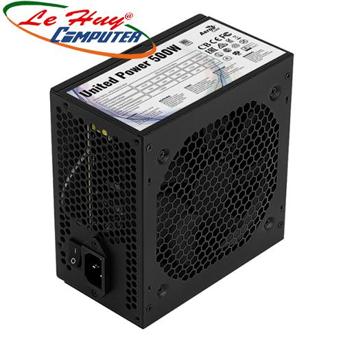 Nguồn máy tinh AEROCOOL UNITED POWER 500W 80Plus Certified