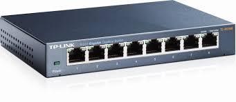 Thiết bị chuyển mạch Switch TP-Link TL-SG108 8 cổng 10/100/1000Mbps sắt