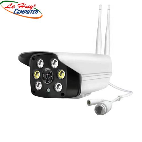 Camera yoosee 2.0 (2 antens 6led hồng ngoại- màu ban đêm)